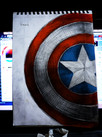 Captain America by straightedge by XC5546