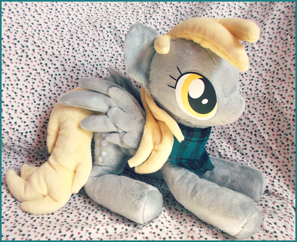 :: Talking Derpy Hooves Plushie :: by Fallenpeach
