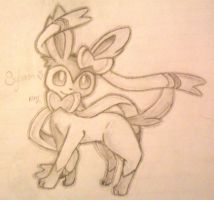 :X and Y: Sylveon by Mindl3ss-Cr3ator