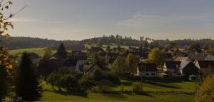 View of my home town by Jonas-dART