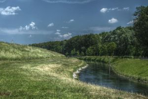 river flow HDR by Akechi18