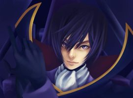 Evil Lelouch by LeonLampard