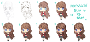 Fern Checkered Outfit (Step by Step) by mochatchi