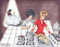 Cooking Disaster by shidonii
