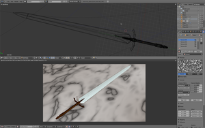 Claymore - the sword - WIP 5 by desprosal