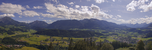 Wurbauerkogel Panorama by snugsomeone