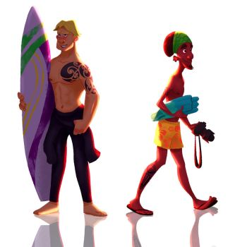 Surfers 01 by gugodd3