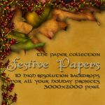 Festive Papers by patslash