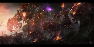 Rise Of Evil by mzrkart