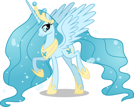 [AU] Princess Chrysalis - redesign by LimeDazzle