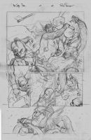 Red Sonja e Thor Sample Pencil Pg02 by RodGallery