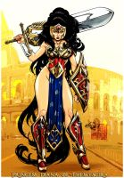 Ame-Comi Girls Wonder Woman by Altitron