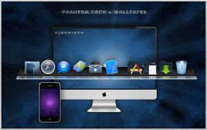 PHANTOM DOCK + Wallpaper by turnpaper