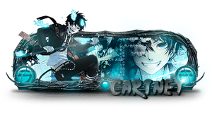 Ao no Exorcist by iPauloDesigner
