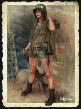 Khe Sanh 1968 by Riguel by Riguel3d