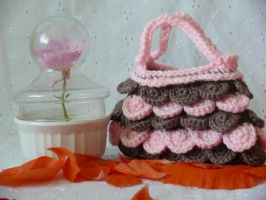 Tea Cake Mini Purse by voodoomaggie
