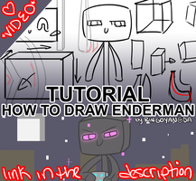 Tutorial: How to Draw Enderman (Video) by RingoYan
