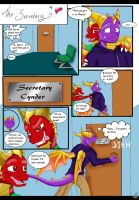 LoS: The_Secretary page 1 by Saoswife
