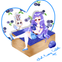 CE: Blueberry Girl by Niti-Pon
