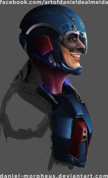 Brandon Routh as The Atom by daniel-morpheus