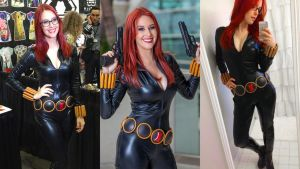 Meg Turney Blackwidow 1920x1080 Wallpaper by TheCypherPhoenix