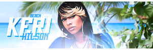 Keri Hilson by 5treet-5oldier
