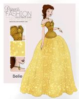 Princess Fashion Collection - Belle by HigSousa