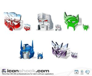 Transformers Vista icons by Iconshock Iconos para Windows XP