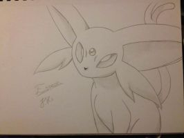 Espeon by ThunderJess