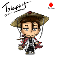 RC.Commission- Chibi Kyoraku by talespirit