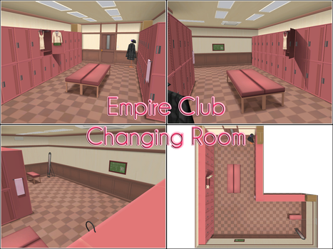 CM3D2 to MMD: Changing Room by kaahgomedl