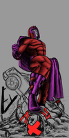 magneto vs cyclops color test by ivo0599