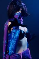 Female Malzahar Cosplay: For the Void by Hanuro-Sakura