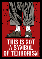 Not A Symbol Of Terrorism 1 by graphic-resistance