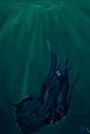 Lost in Sea by QingFey