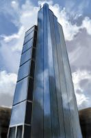 Heron Tower - Daily Practice by Olooriel