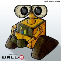 Wall-E by wibblethefish