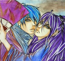 Just without the words-Kaito x Gakupo by KaiLEECH