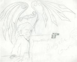 Angelic Gun number 1 by AccessThyme