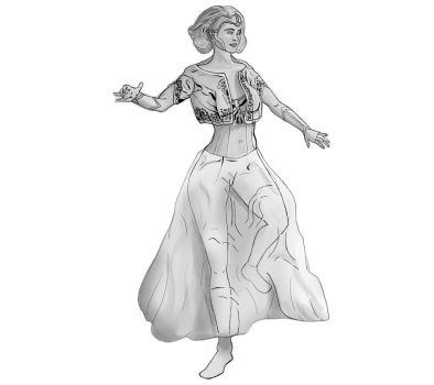 Golden Lady from Fables by BannedFiveToOne