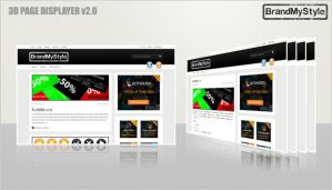 3D PAGE DISPLAYER v2.0 by brandmystyle