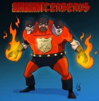 Sergeant Cerberus by DBed