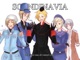APH : NORDIC 5 by Airi-Mai