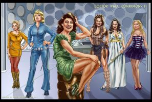 Doctor Who Companions II by ShawnVanBriesen