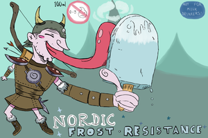 Nordic Frost Resistance ice lolly by Grim-Rabbit
