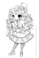My Little Lolita: Rarity by YamPuff