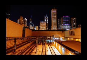 Metra Rail by dx