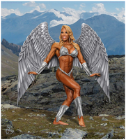 Iron Angel Patricia Mello version 2 by Yatz by zenx007
