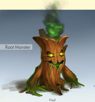 Root Monster by DeanyVan