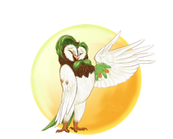 Dartrix realistic with some poke-science